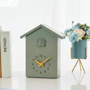 Wall Clock Cuckoo Clock - Movement Chalet-Style , Minimalist Modern Design