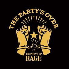 PROPHETS OF RAGE THE PARTY'S OVER CD NEW