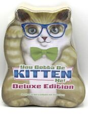 You Gotta Be Kitten Me 10097 Deluxe Edition Card Party Game Cats Animals NIB