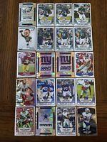 2019 Panini NFL Football Stickers Eagles, NY Giants, Cowboys, Redskins RC