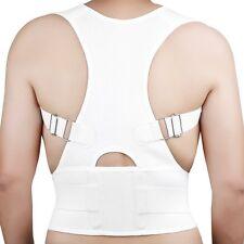 Magnetic Adjustable Posture Back Support Corrector Brace Shoulder Band Belt