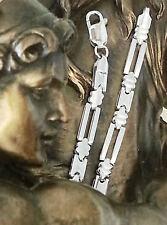 echt 925 Silber Kette Armreif Sterlingsilber Fantasie mustern edle Damen Armband