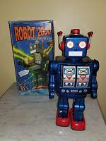 "Robot 2000 the Millennium Robot in Box Schylling Collector Series 12"" 1997 VTG"