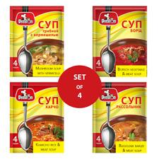 Set of 4 Instant Soups 60 gr x 4 (16 servings)