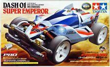 Tamiya 18632 1/32 Mini 4WD Pro Car Kit MS Chassis JR Dash-01 Super Emperor
