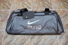 Nike Hoops Elite Max Air Duffel Bag Gray Grey Travel BA5553-021 RARE Gym Luggage