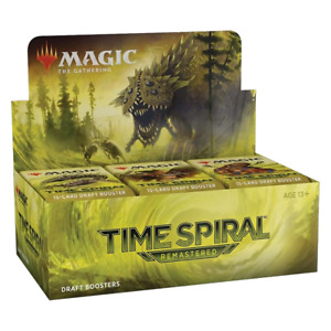 PREORDER Magic the Gathering MTG Time Spiral Remastered Draft Booster Box W/ 36