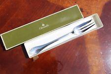 Christofle Pompadour Silver plated Serving Fork