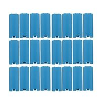 24X Light Blue BATTERY COVER LID REPLACEMENT NINTENDO WII U REMOTE CONTROL