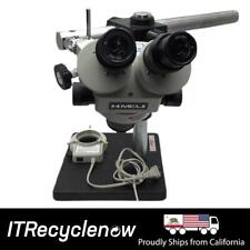 Meiji Emz Series 45x Zoom Stereo Microscope With Adjustable Arm Leica Boom Stand