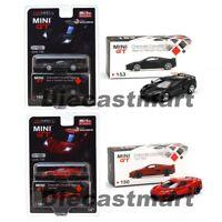 Mini GT 1:64 2020 Chevrolet Corvette C8 Stingray Diecast Model Car Brand New