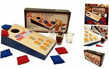 Party Drinking Games, Shot Glass Basketball, Shot Glass Corn Hole Toss, Spin It