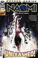 Naomi Comic Issue 5 Cover A First Print 2019 Brian Michael Bendis Walker DC