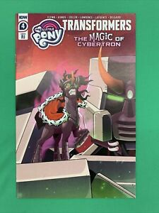 My Little Pony Transformers II #4 1:10 RI Retailer Incentive Variant IDW 2021