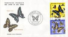 FDC - Afars et Issas - Papillons - Série de 2 enveloppes