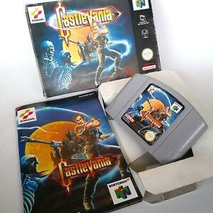 Castlevania Nintendo 64 N64 PAL