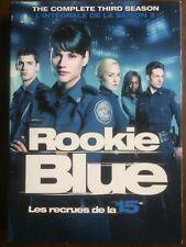 Rookie Blue: Season 3 (DVD - 2013, Canadian)