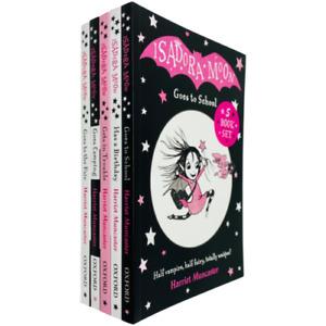Isadora Moon 5 Books Children Collection Pack Paperback Set By Harriet Muncaster