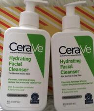 New 2 Bottles Cerave Hydrating Cleanser - 8 oz