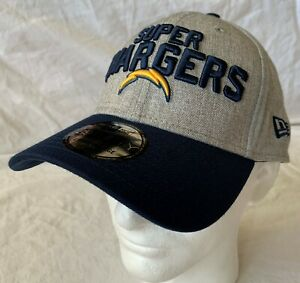 New Era 39Thirty Los Angeles Super Chargers NFL Fitted Cap - Size L-XL - New!!