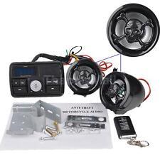Motorcycle Handlebar Stereo USB SD FM Radio Skull MP3 for Amplifier Speaker