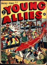 Young Allies #8 Golden Age Timely 4.5