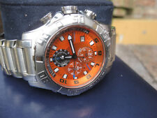 Festina F 16177 Chronograph Tour Chrono orange 45mm Tauch 100m Edelstahlarmband