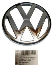 VW Golf IV Anteriore Cofano Griglia Stemma Logo Badge Genuine Chrome;;;