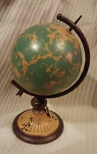 Metal Globe that spins on its axis* Brand  New* Table top*