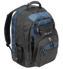Targus XL Backpack Designed for 17-Inch Notebooks Black with Blue Accents TXL617