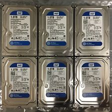 "(Lot of 6) WESTERN DIGITAL WD Blue WD10EZEX 1TB 7200RPM SATA III 3.5"" Hard Drive"