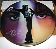 Michael Jackson Plate Collection Nate Gorgio Bradford Exchange Plate