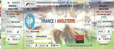 RARE / TICKET BILLET DE RUGBY - MATCH : FRANCE - ANGLETERRE ENGLAND 1996