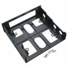 PC 3.5'' Floppy/Hard Drive to 5.25'' Front Bay Bracket Converter Mounting Set M
