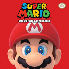 Super Mario 2021 Calendar 30cm x 30cm *OFFICIAL PRODUCT, NEW & SEALED*