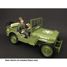 American Diorama: WWII USA Soldier III 1/18 Scale