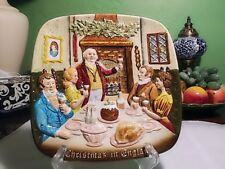 John Beswick/Royal Doulton Vintage 19 Christmas In England Decorative Plate 1972