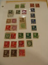 NORWAY - NORGE - MIXED LOT USED STAMPS -