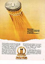 PUBLICITE ADVERTISING 1969   BALANCIAGA  parfum DIX