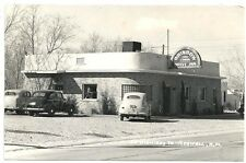 RPPC    Rainbow Drive Inn Restaurant ~ On the Highway to Roswell NM  c1940s