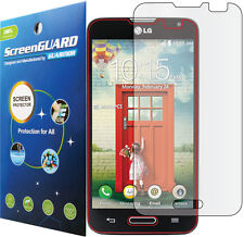 Clear LCD Screen Protector Guard for LG Optimus MS323 D325 D321 L70 / LG Pulse