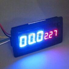 Digital LED Amp Volt Combo Meter 100V 0-100A Voltage w/ Shunt F/ 12v car Solar
