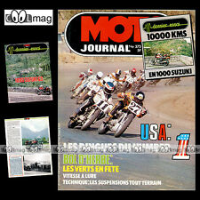MOTO JOURNAL N°373 SANGLAS 500 S2 SUZUKI GS 1000 ULF KARLSSON DIRT-TRACK 1978