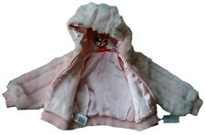 Or. BARBIE FASHION BABY PINK Rosa Morbida Giacca Wow RARO! 74/80 2 anni