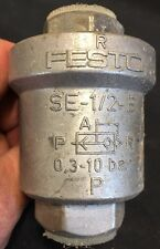 Festo Quick Exhaust Valve SE-1/2-B 0.3-10 Bar