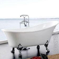 freistehende ovale badewannen ebay. Black Bedroom Furniture Sets. Home Design Ideas