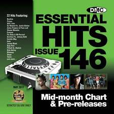 DMC Essential Hits 146 Chart Music DJ CD - Latest Releases of Radio Edit Tracks