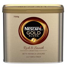 ORIGINAL NESCAFE GOLD BLEND 750G TIN COFFEE GOLDEN ROAST £24.99