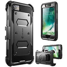 Iphone 7 Estuche Paragolpes de armadura de cuerpo completo Apple ARMORBOX Heavy Duty choque reducción