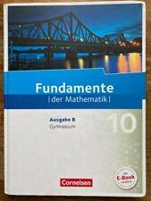 Fundamente der Mathematik - Ausgabe B Gymnasium 10. Schuljahr